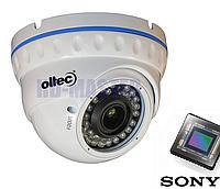 Видеокамера AHD купольная 2Мп Oltec AHD-922VF (2,8-12 мм)