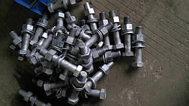 Изготовление болтов шестигранных из различных материалов: сталь (3, 20, 35, 45, 09Г2С, 40Х, 25Х1МФ и др.), нержавейка (болт нержавеющий 12Х18Н10Т, 14Х17Н2, 10Х17Н13М2Т).