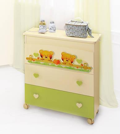 Комод-пеленатор Baby Expert BAGNETTO CUORE, фото 2