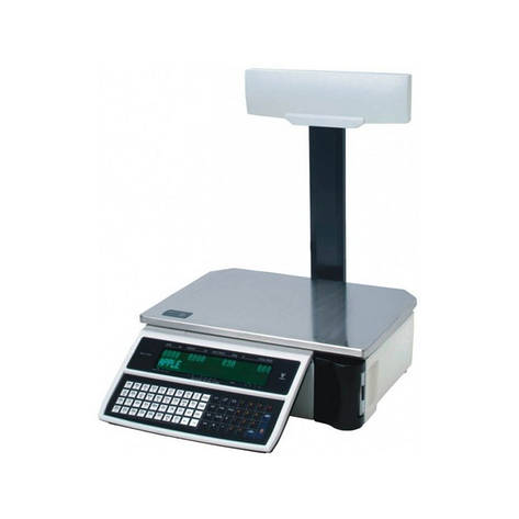Весы торговые DIGI SM 100 P Plus 6 кг с печатью, фото 2