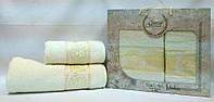 Набор махровых полотенец Medusa VIP Cotton 70*140+50*90