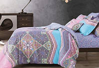 Комплект постельного белья 200х220/70*70 ARYA сатин 6пр. Minorka
