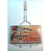 """Решетка для гриля """"Stenson"""" плоская (55 см 27*24)"""