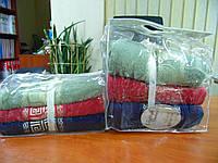 Набор махровых полотенец 3шт 70*140 VIP COTTON MEDUSA