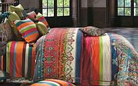 Комплект постельного белья 200х220/70*70 ARYA сатин 6пр. Sevilla