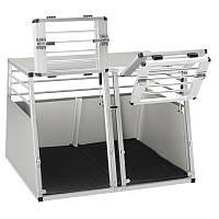Ferplast (Ферпласт) Atlas Car Aluminium контейнер для транспортировки животных 50 x 55 x 55 см