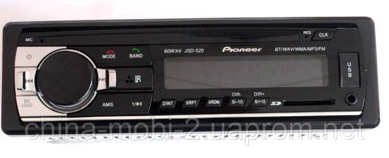 Автомагнитола Pioneer JSD-520 с Bluetooth,  mp3 /sd /usb, фото 2