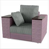 Кресло с деревянными подлокотниками «Гранд»