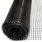 Сетка вольерная / сітка для огородження 1,5х20м (для птичников) ячейка 15х15мм (черная)