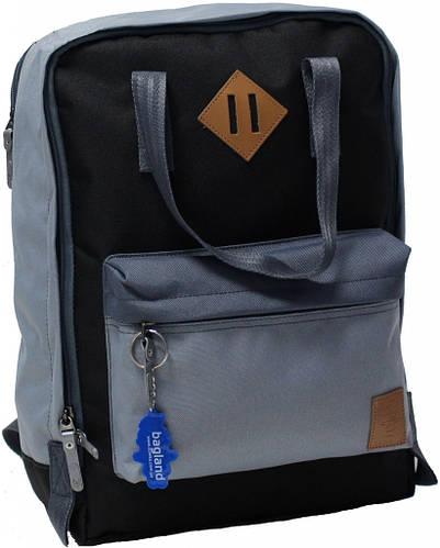 Повседневный черный  рюкзак Bаgland Liberty на 19 л  0050266-9