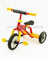 Велосипед детский трёхколёсный «Super Trike» (красно-желтый), фото 1