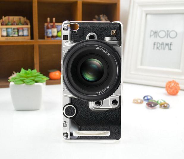 Силиконовый чехол накладка для Xiaomi Redmi 3 с картинкой фотоаппарат