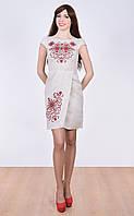 Легкое платье с уникальной вышивкой