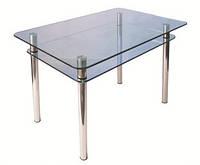 Стол стеклянный КС-1 прозрачный
