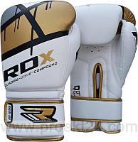 Боксерские перчатки RDX Rex Leather Gold-14 oz