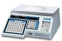 Весы торговые CAS LP-15 (1.6) 15кг с термопечатью