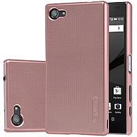 Чехол Nillkin для Sony Xperia Z5 Compact розовый (+плёнка)