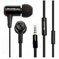 Наушники HF MP3 AWEI ES100i Mix + mic + button call answering