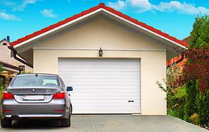 Секционные ворота Алютех серии CLASSIC 3500*2350, фото 2