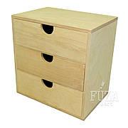 Комодик деревянный обычный, маленький