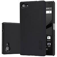 Чехол Nillkin для Sony Xperia Z5 Compact чёрный (+плёнка)