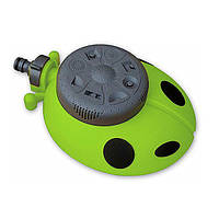 Дождеватель Божья Коровка 8112G: 8 режимов, диаметр 14 м, подставка, оборудование для полива