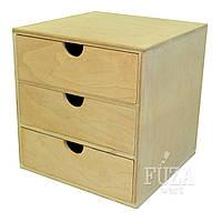 Комодик деревянный обычный, средний