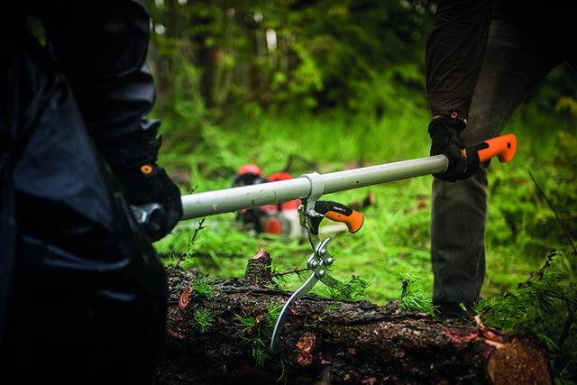 Рычаг для рубки большой Fiskars WoodXpert (126052)