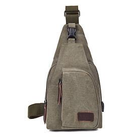 Мужская сумка рюкзак  Flash army green