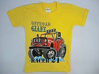 Летняя футболка на мальчика  1-3 года