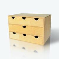 Комодик деревянный обычный, большой