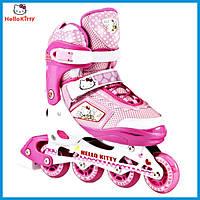 Детские ролики Hello Kitty 36-39