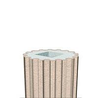 Колонна для фасада Prestige decor LC 102-21 тело с каннелюрами Full (2,00м)