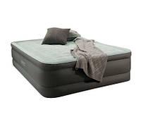Надувная двуспальная кровать Intex 64474: 203*152см, высота 46см, электрический насос, сумочка для хранения