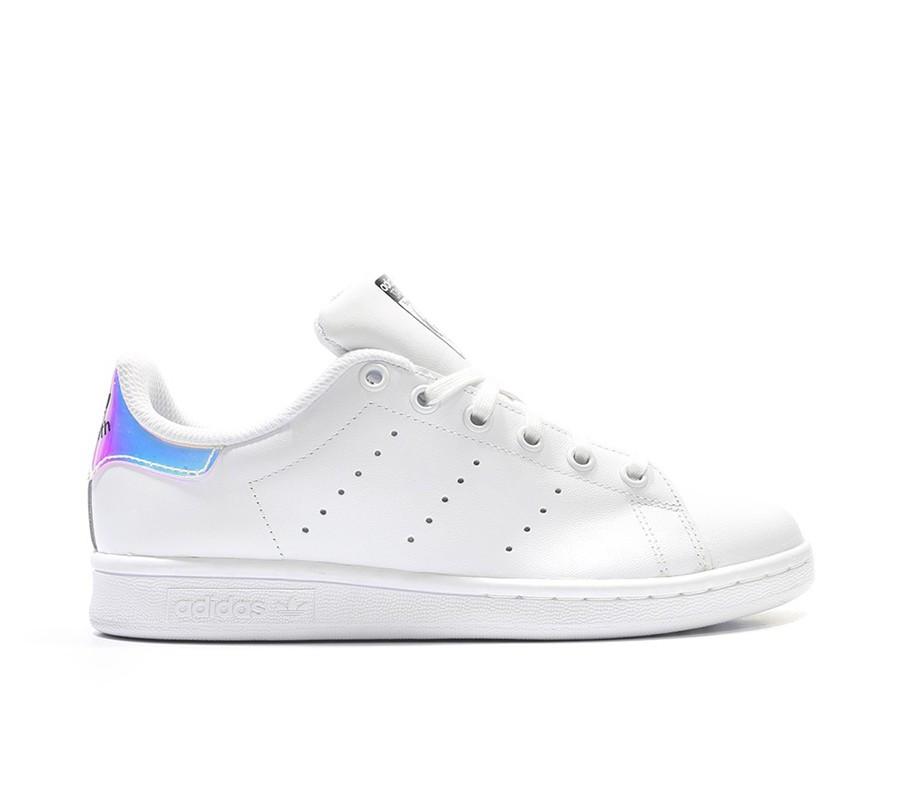 Кроссовки Adidas Stan Smith White Metallic Silver-Sld