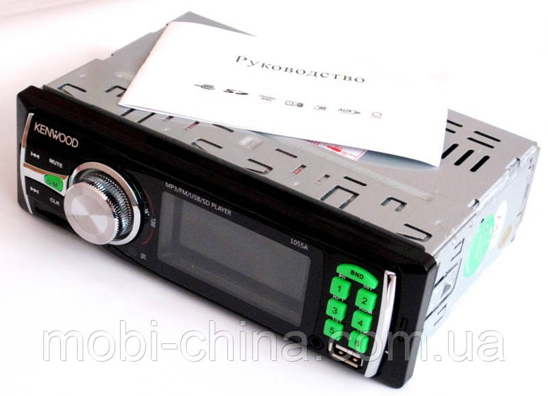 Автомагнитола Kenwood 1055A MP3 SD USB AUX FM