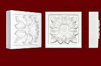 Декоративные обрамления  для дверных  проемов, вставка из гипса КВ0001