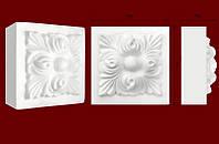Декоративные обрамления  для дверных проемов, вставка из гипса КВ0006