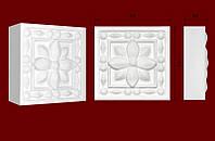 Декоративные обрамления  для дверных проемов, вставка из гипса КВ0009