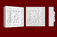 Декоративные обрамления  для дверных проемов, вставка из гипса КВ0010
