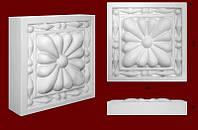 Декоративные обрамления для дверных проемов, вставка из гипса КВ0010(а)