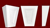 Декоративные обрамления для дверных проемов, вставка из гипса КВ0011