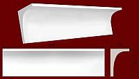 Карниз гладкий из гипса КЛ1801201