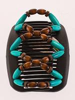Заколка для волос African butterfly Beada 009 черная