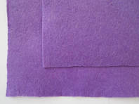 Фетр для рукоделия листовой, 1 лист 40*50 см, жёсткий, толщина 1 мм; фиолетовый