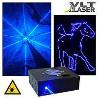 Лазерный проектор для шоу (V поколение). Синий, 1500мвт. Софт и контроллер. Наличие LAN, DMX, ILDA, SD