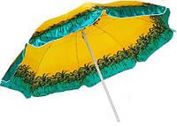 Зонт пляжный СР220 (спицы-пластик, крепл.-ромашка)
