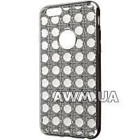Силиконовый чехол Crystal для Apple iPhone 6 / 6S стальной