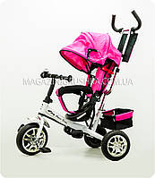 Велосипед детский трёхколёсный c ручкой управления «Super Trike» ()