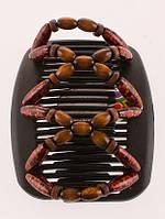 Гребни для укладки волос African butterfly Beada 013 черная